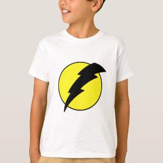 Lightning bolt retro look super hero logo T-Shirt