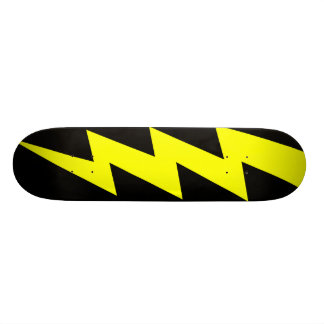 lightning bolt skateboard deck