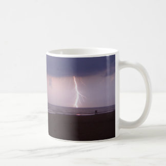 Lightning Bolt Strike Ocean Daytona Beach FL Mug