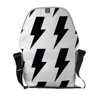 Lightning bolts courier bags