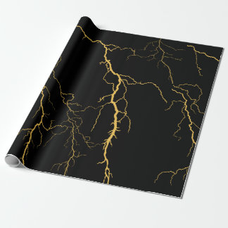 Lightning Bolts Wrapping Paper