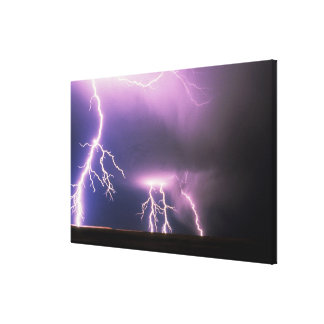 Lightning. Canvas Print
