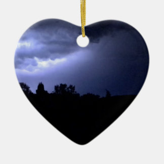 Lightning Christmas Ornament