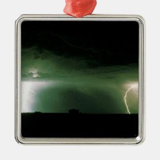 Lightning. Christmas Ornament