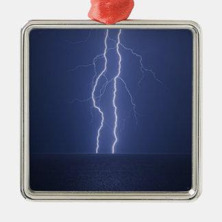 Lightning Christmas Ornament