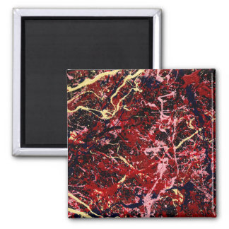 LIGHTNING FLASH (an abstract art design) ~ Magnet