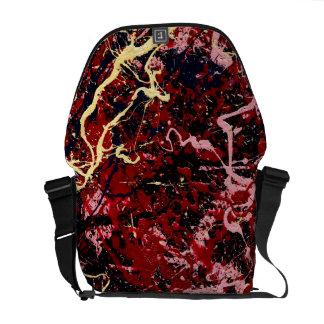 LIGHTNING FLASH (an abstract art design) ~ Messenger Bag