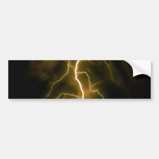 Lightning Flash Bumper Sticker
