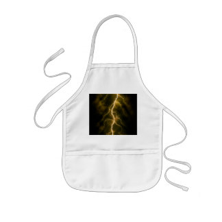 Lightning Flash Kids Apron