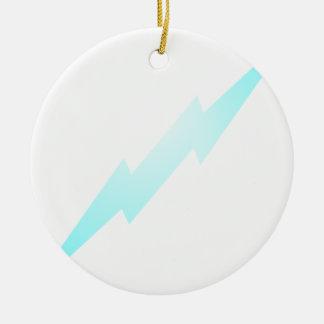 Lightning Flash Round Ceramic Decoration