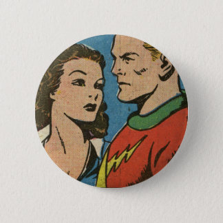 Lightning from Sure-Fire Comics! 6 Cm Round Badge