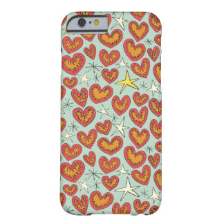 lightning hearts barely there iPhone 6 case