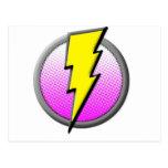 Lightning Hero Supplies Postcards