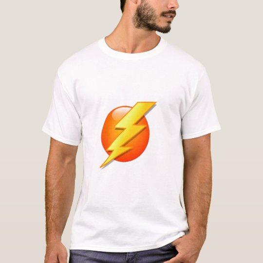 Lightning icon orange ball T-Shirt