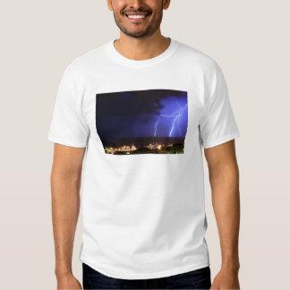 Lightning in Genoa, Italy T-shirt