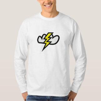 Lightning in Thunderstorm Cloud Shirts