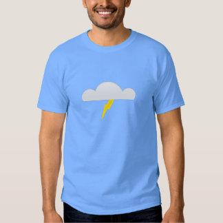 Lightning in Thunderstorm Cloud Tee Shirt
