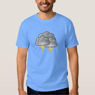 Lightning in Thunderstorm T-shirts