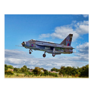 Lightning Jet Postcard