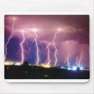 lightning mouse mat