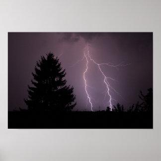 Lightning of strikes poster