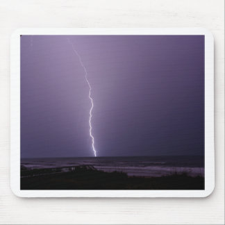 Lightning on Ocean Mouse Mat