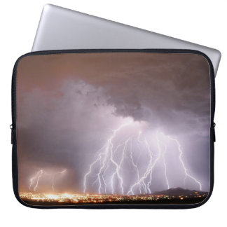 Lightning on your laptop computer sleeve