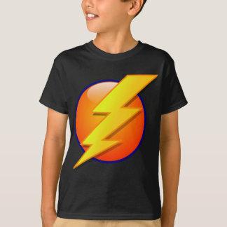 lightning orb energy icon vector T-Shirt