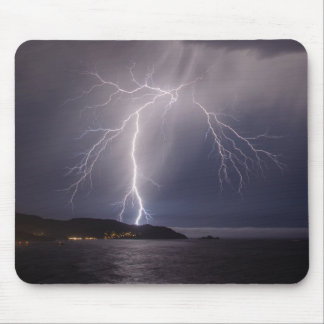 Lightning over Pacifica Mouse Mat