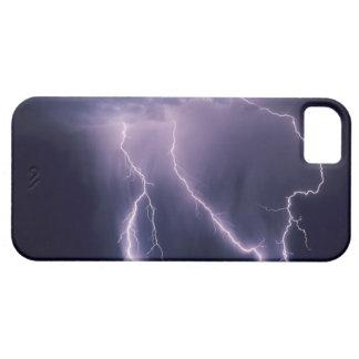 Lightning over Salt Lake Valley, Utah. iPhone 5 Covers
