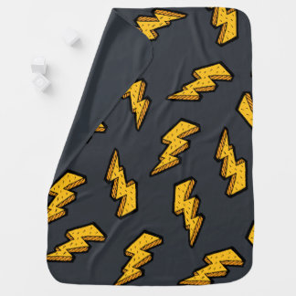 Lightning Pattern Baby Blanket