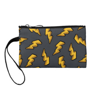 Lightning Pattern Coin Wallets