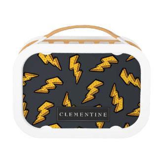 Lightning Pattern Lunch Box