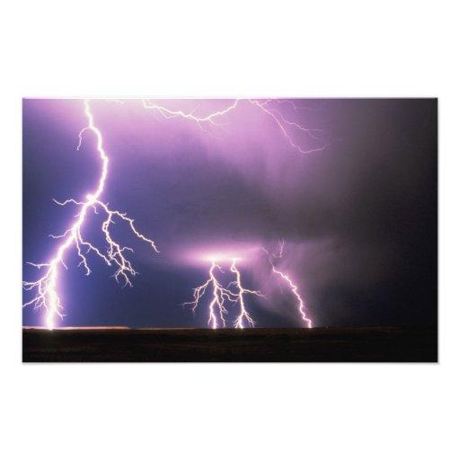 Lightning. Art Photo