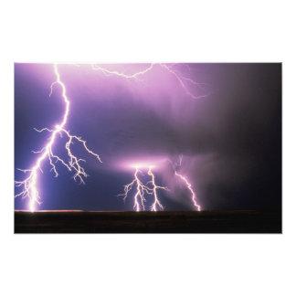 Lightning. Photographic Print