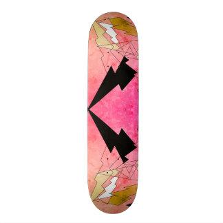 Lightning Skateboard - Pink