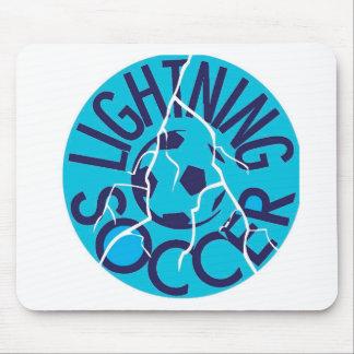 Lightning Soccer Team Mouse Pad
