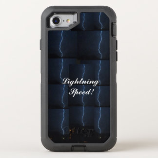 """Lightning Speed!"" Ottobox OtterBox Defender iPhone 7 Case"