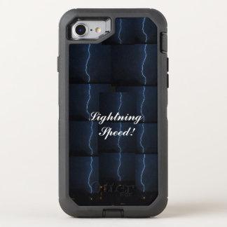 """Lightning Speed!"" Ottobox OtterBox Defender iPhone 8/7 Case"
