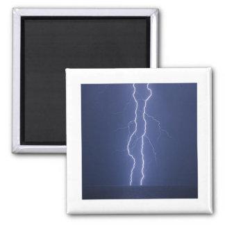 Lightning Square Magnet