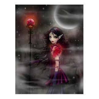 Lightning Stone Fairy Dragon Postcard
