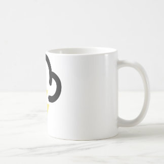 Lightning storm: retro weather forecast symbol coffee mugs