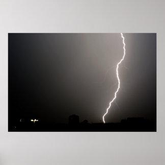 Lightning Strike Posters