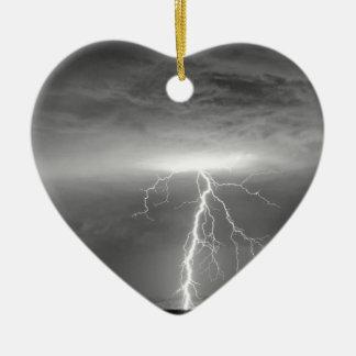 Lightning Strikes Following the Rain BWSC Christmas Ornament