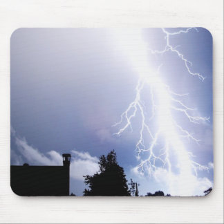Lightning Strikes Mouse Pad