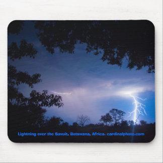 Lightning Strikes Twice Mouse Mat