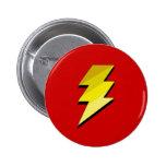 Lightning Thunder Bolt Buttons