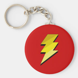 Lightning Thunder Bolt Key Ring