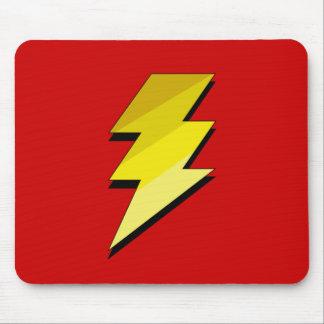 Lightning Thunder Bolt Mouse Mat