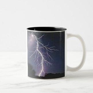 Lightning Two-Tone Coffee Mug